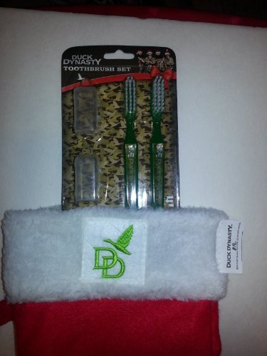 Duck Dynasty Christmas Stocking with Bonus Duck Dynasty Toothbrush Set!