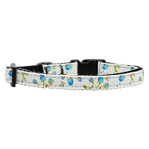 Mirage Roses Nylon Ribbon Collar for Dogs, X-Small,