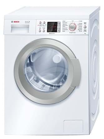 Bosch WAQ24483FF Autonome Charge avant 8kg 1200tr/min A+++-30% Blanc machine à laver - machines à laver (Autonome, Charge avant, Blanc, Gauche, LED, Acier inoxydable)