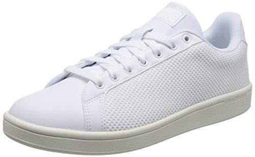 adidas Herren Cloudfoam Advantage Clean Gymnastikschuhe Elfenbein (Ftwr White/ftwr White/chalk White Ftwr White/ftwr White/chalk White)