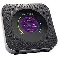 Netgear Nighthawk M1 Mobiler WLAN Router / 4G LTE Router MR1100 (bis zu 1 Gbit/s Download-Geschwindigkeit, Hotspot für bis zu 20 Geräte, WLAN überall einrichten, für jede SIM-Karte freigeschaltet)