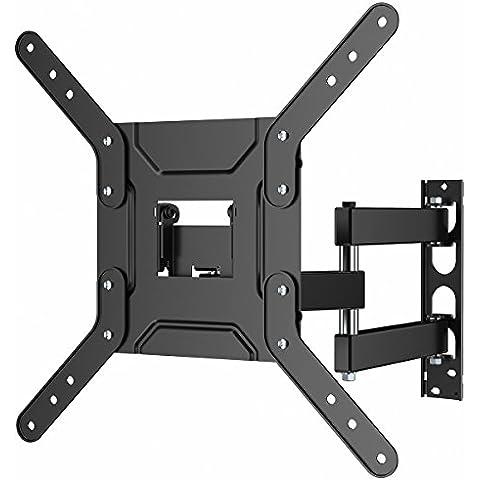 '1home–Soporte de pared para TV con brazo voladizo para esquina para 24–50pulgadas LED LCD Plasma & Curved Screens, Max VESA 400mm x 400mm