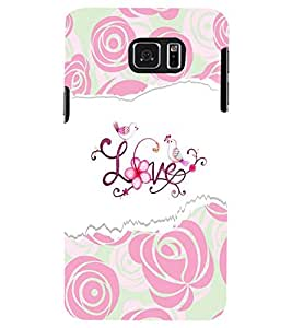 PRINTSWAG LOVE WORD Designer Back Cover Case for SAMSUNG GALAXY NOTE 5 EDGE