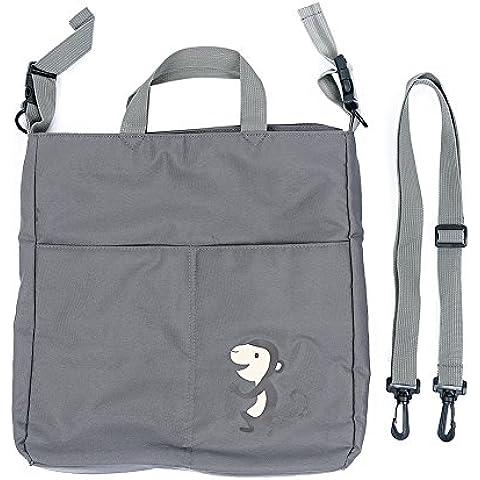 intipal Cochecito Organizador–Bolsa de Pañales compatible con la mayoría de los cochecitos Cochecitos, cochecitos–Mummy Bolso de pañales bolso cambiador