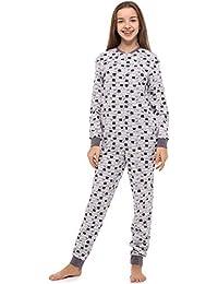 17046658edd Merry Style Pijama Entero 1 Pieza Vestido de Casa 100% Algodón MS10-235