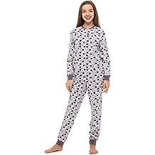 d6e3a088e Merry Style Pijama Entero 1 Pieza Vestido de Casa 100% Algodón MS10-235