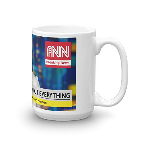 Angela Rye Mug. Funny CNN Fake News Parody. The Perfect Novelty Cup Gift Idea For Any Republican, Conservative To Drink Liberal Tears Out Of. MAGA FNN