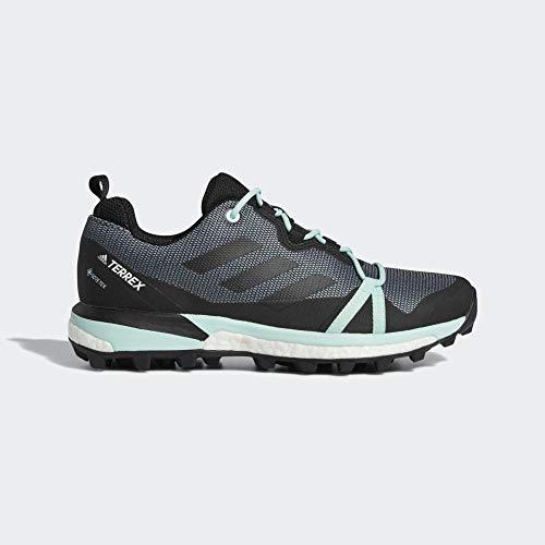 Adidas Terrex Skychaser Lt GTX W, Zapatillas de Deporte para Mujer, Multicolor Gricen/Negbás/Mencla...