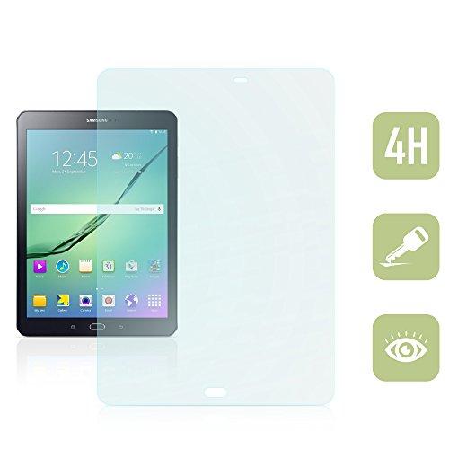 Kristallklare Folie zum Displayschutz für Samsung Galaxy Tab S2 9.7 [passend für Modell SM-T810, SM-T813, SM-T815, SM-T819]
