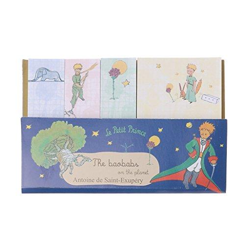 suweqi Creative piccolo blocco note del Principe Memo Pad settimanale Cancelleria Sticky Note forniture scolastiche 1# Comme l'image montrée