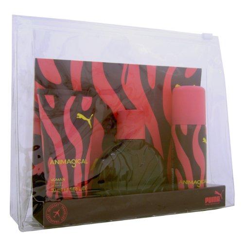 Puma Puma animagical woman giftset edt spray 40ml shower gel 50ml und deodorant 50ml spray 1er pack 1 x 140 ml