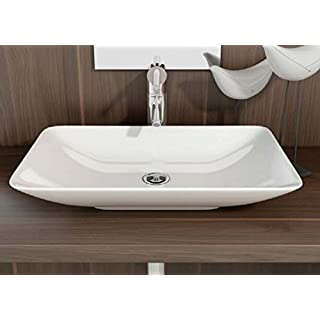 Art-of-Baan® - Design Waschbecken, Waschschale Aufsatz 585 mm x 365 mm x 100 mm (Nova)