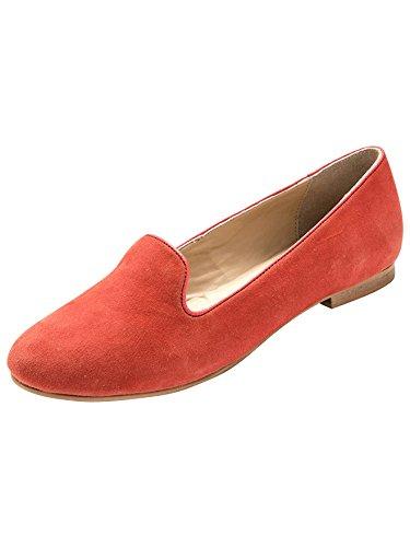 Pantofole Camoscio Balsamik Coral Comodità Larghezza Donna w7w5qd