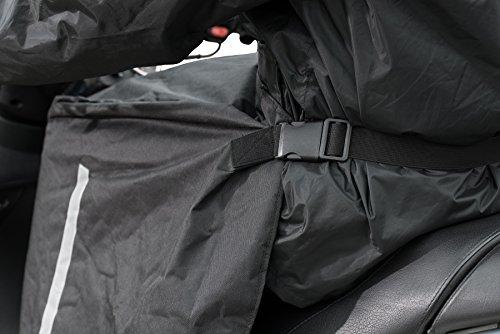MQS 310800Delantal de Lluvia Moto Scooter tu