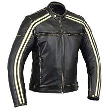 29add2ce978 Australian Bikers Gear Retro Style  The Bonnie  - Chaqueta de moto