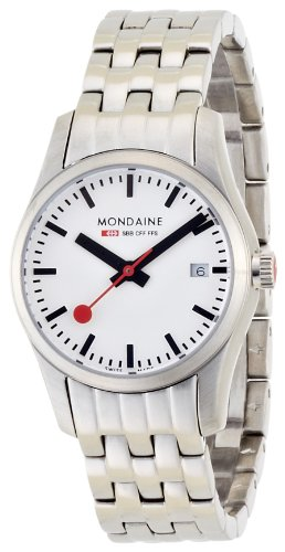 Mondaine - A629.30341.16SBM - Montre Femme - Quartz - Bracelet Acier inoxydable