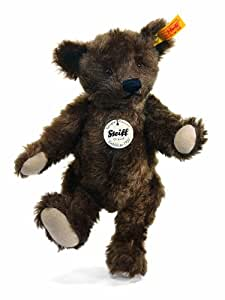 Steiff 25cm Classic 1920 Jointed Teddy Bear (Dark Brown)
