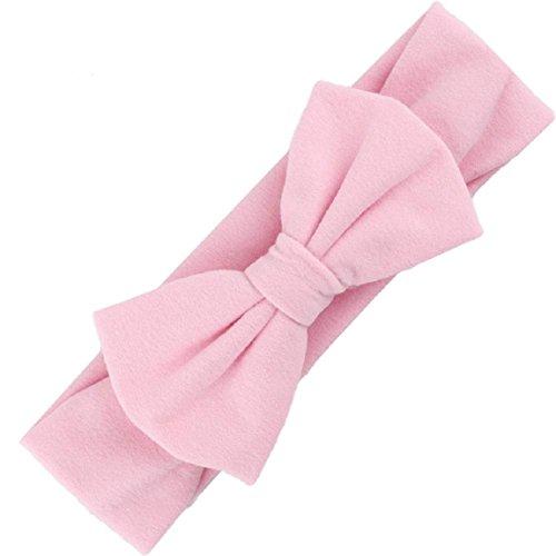 Malloom® Haar-Accessoires Baby Haar Weich Mesh Bowknot Haarband (rosa)