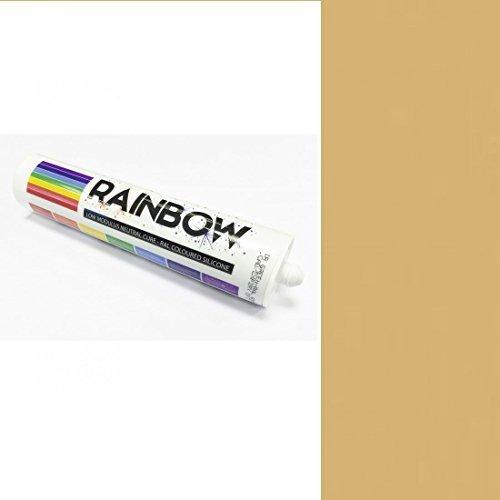 Rainbow RAL bunt Silikone sand gelb Kitt Dichtmasse RAL1002 300 ml