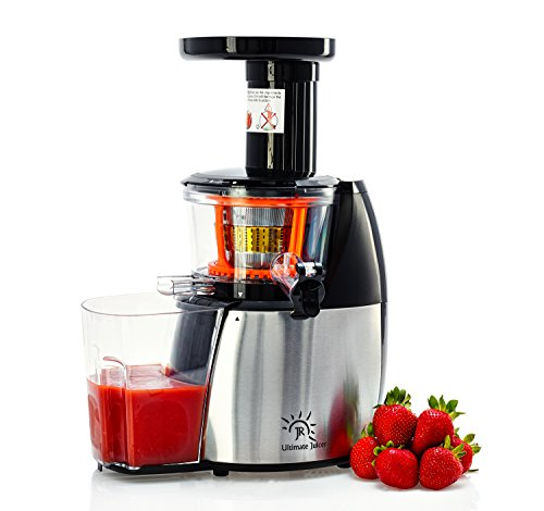 JR-Ultra Juicer, JR-6000 Multipurpose Slow Masticating Juicer, Frozen Dessert,