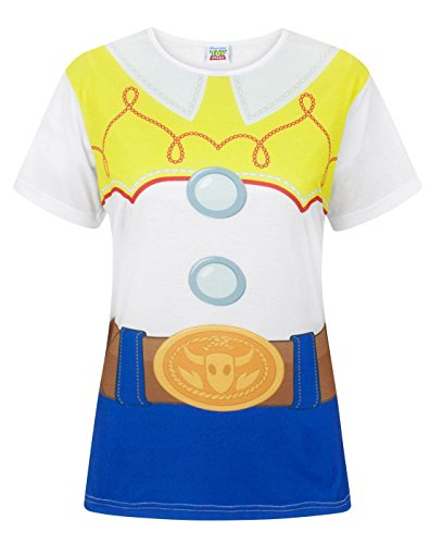 Disney Toy Story Jessie Costume Women's T-Shirt (XL) (Story T-shirts Frauen Toy)