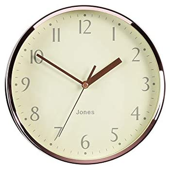 Seiko Quartz Wall Clock With Arabic Numerals Gold 30 X 5