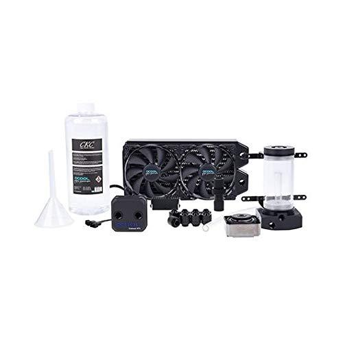 Alphacool Eissturm Hurricane Copper 45 2x120mm Wasserkühlung, schwarz