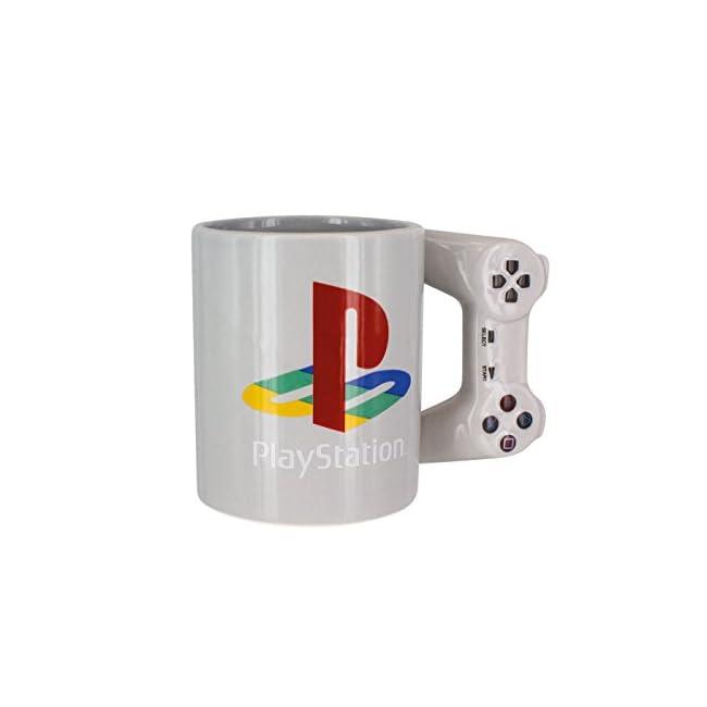 Playstation Tasse in Form PS4-Controller, Dual Shock-Kaffee- / Teetasse, Retro-Gaming-Trinktasse, Ke