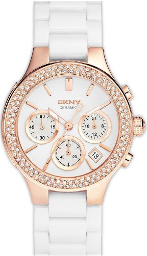 DKNY Ceramic Ladies Watch NY8215 Wrist Watch (Wristwatch)