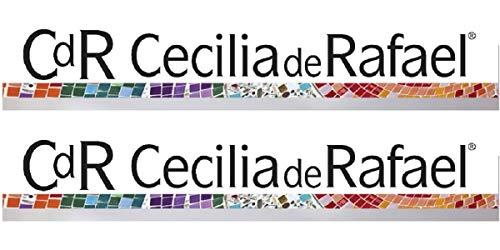 Cecilia de Rafael Damen Strumpfhose Eterno Super Lucido 20 DEN, Schwarz (Negro 09) Medium