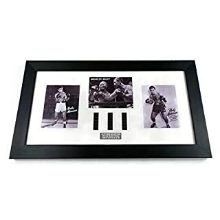 Rocky Marciano Vintage Framed Fight Footage