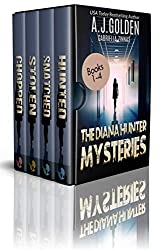 The Diana Hunter Mysteries: Books 1-4 (The Diana Hunter Series Boxset Book 1)