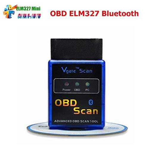 HANO ELM 327 V 2.1 ELM327 V2.1tooth Mini Chine Scan Tool OBDII OBD2 Scanner Automotivo Escaner Voiture Code lecteur-outil