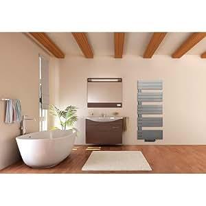 Sèche-serviettes LVI - Silay IR T/Largeur : 600/ Hauteur : 1485/Electrique/ Vertical à gauche/ Puissance: 750W/ Nbre éléments : 15/3870027