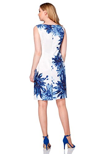 Roman Originals Damenkleid, Blumen-Print, Blau Blau
