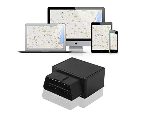 fahrtenbuch obd2 GPS Tracker - Kabelloses Ortungsgerät & Geschwindigkeitsmessung - GPS-Navigation OBD OBDII - Fahrzeugortungsgerät - Finanzamt konform-Elektr Fahrtenbuch Kostenlose Testversion 30 Tage Service
