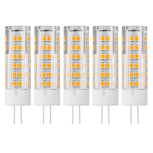 5 piezas G4 75 LED luz bi-pin base maíz foco 10 W