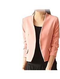 b87c98c643d9 HX fashion Tailleur Donna Elegante Primaverili Manica Lunga Slim Fit Ufficio  Business Chic Unique Blazer Giacca