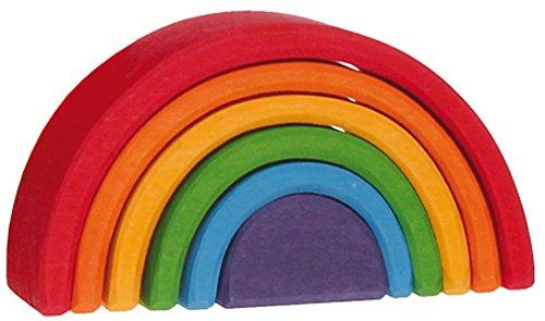Juguetes de Grimm bloques de arco iris pequeños