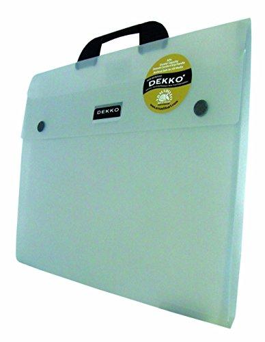 West Design DKTGA2CL Westfolio - Sammelmappe mit großer Seitenfalte, DIN A2, Typ G, transparent