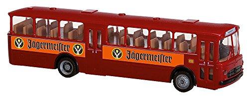 faller car system h0 Faller FA161498 - Car System Start-Set MB O317k Bus Jägermeister, Zubehör für die Modelleisenbahn, Modellbau