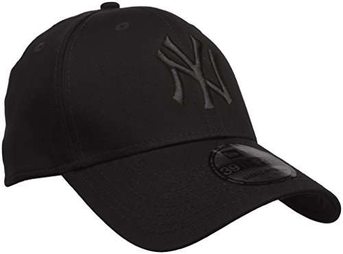 New Era 39Thirty League Basic New York Yankees - Cappello da Uomo, colore Nero, taglia L-XL