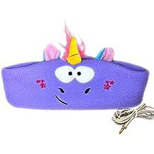 Diadema para niños - Diadema suave y fácil de ajustar con diadema, perfecta para viajes