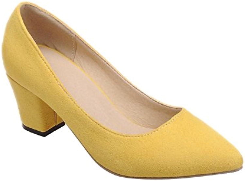 0914485e86f2d8 Carolbar Women s Charm Mid Heel Pointed Toe Court Shoes B01GYGGZQQ  B01GYGGZQQ B01GYGGZQQ Parent d89e6a