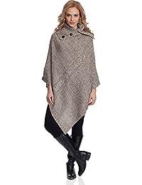 Merry Style Poncho Vêtement d hiver Femme 2V3T1 83a728bdf51
