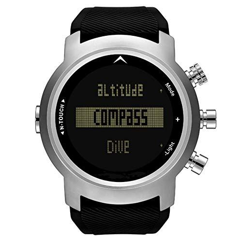 WDLY Tauchuhr, Smart Sportuhr, Fitness Tracker Eingebaute GPS, Kompass Tauchhöhe Zählen, Geeignet Für Erwachsene -