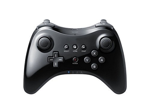 Powerlead Wireless Pro Controller pour Nintendo Wii U-Black