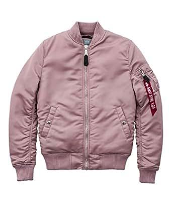 Alpha Industries Damen Jacke MA-1 VF PM Wmn, Größe:XS, Farbe:silver pink
