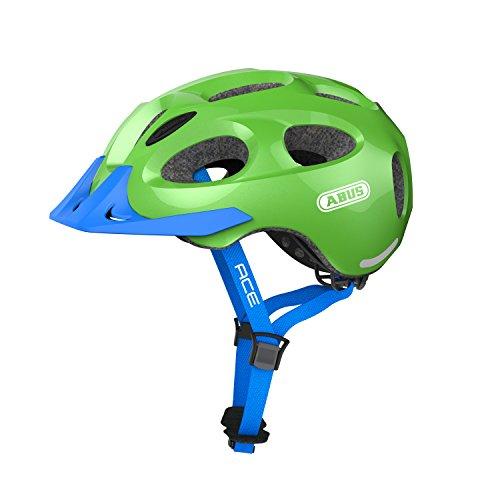 Abus Youn-I Ace Fahrradhelm, Sparkling Green, L (58-61 cm)