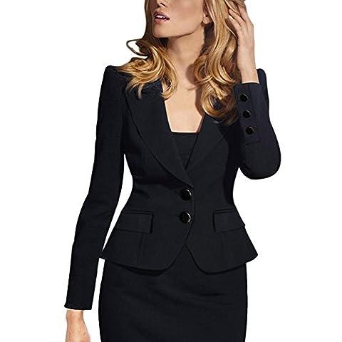 Value Buy Go Go Go - Veste de tailleur - Femme - noir - 38